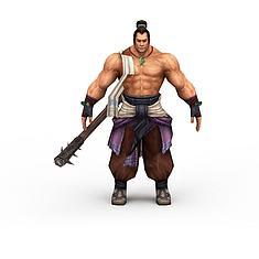 男性网游角色3D模型3d模型