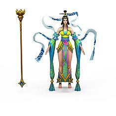 仙侠人物3D模型3d模型