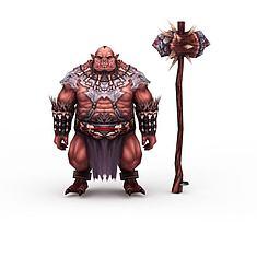 游戏人物怪兽3D模型3d模型