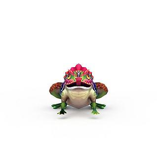 网游青蛙怪兽3d模型
