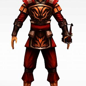 游戏勇士模型