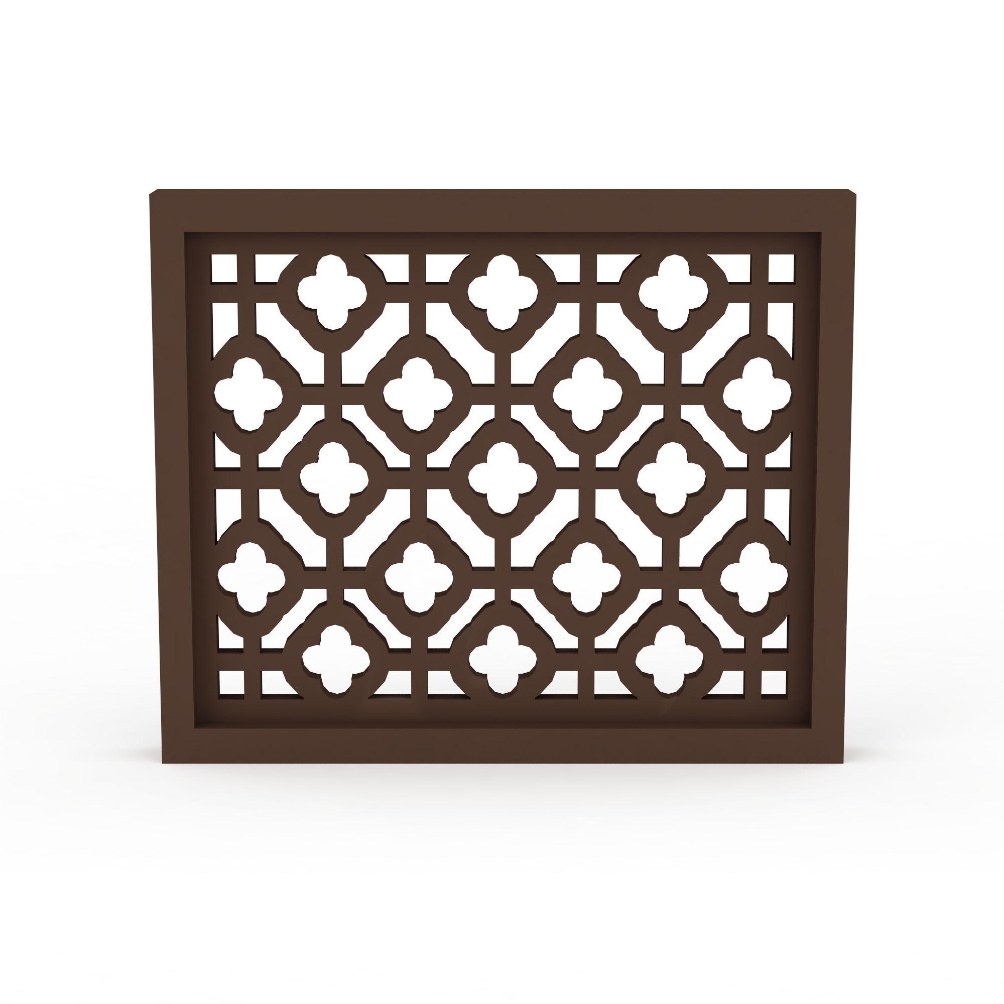 木质镂空窗框高清图下载