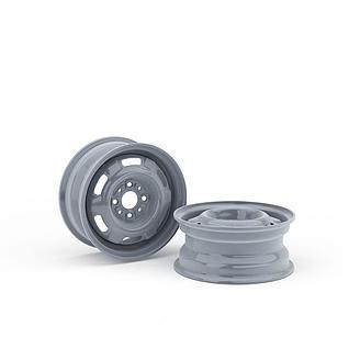 汽车轮毂3d模型