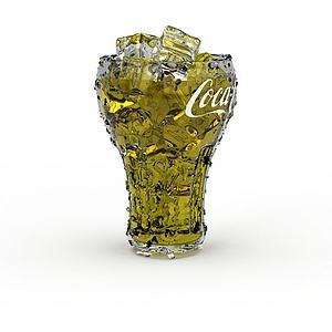 可乐饮品模型3d模型