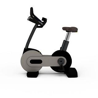动感单车3d模型