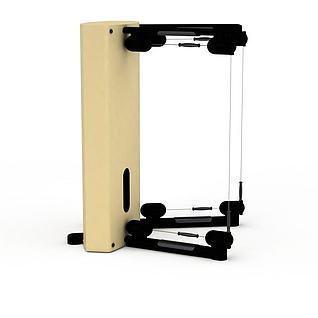 健身器械3d模型