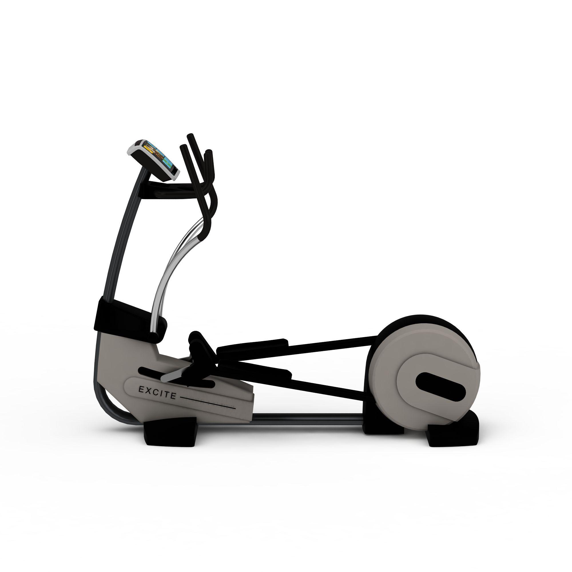 健身房动感单车高清图下载