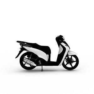 电动摩托车模型