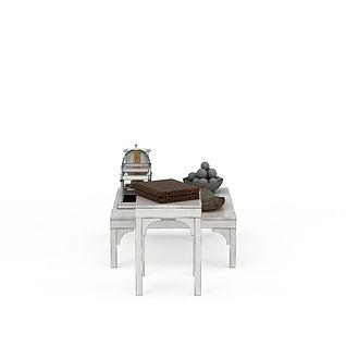 现代简约桌子3d模型
