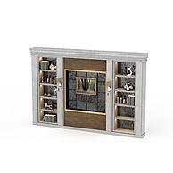 客厅展示储物柜3D模型3d模型