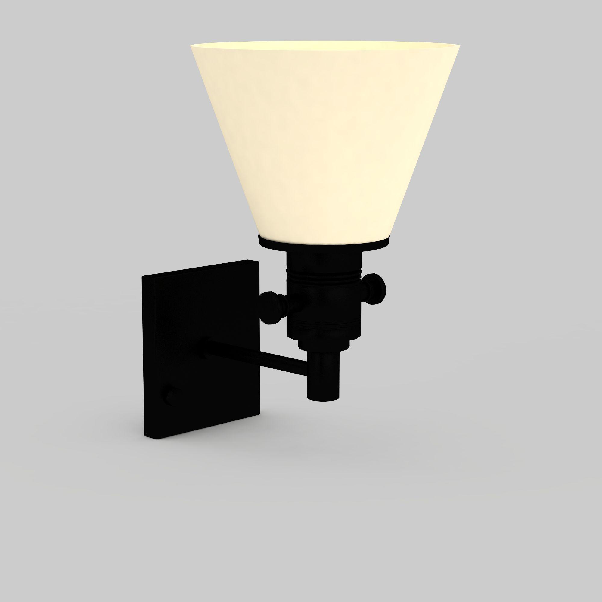 简约白色壁灯图片_简约白色壁灯png图片素材_简约白色