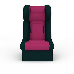 安全座椅3d模型