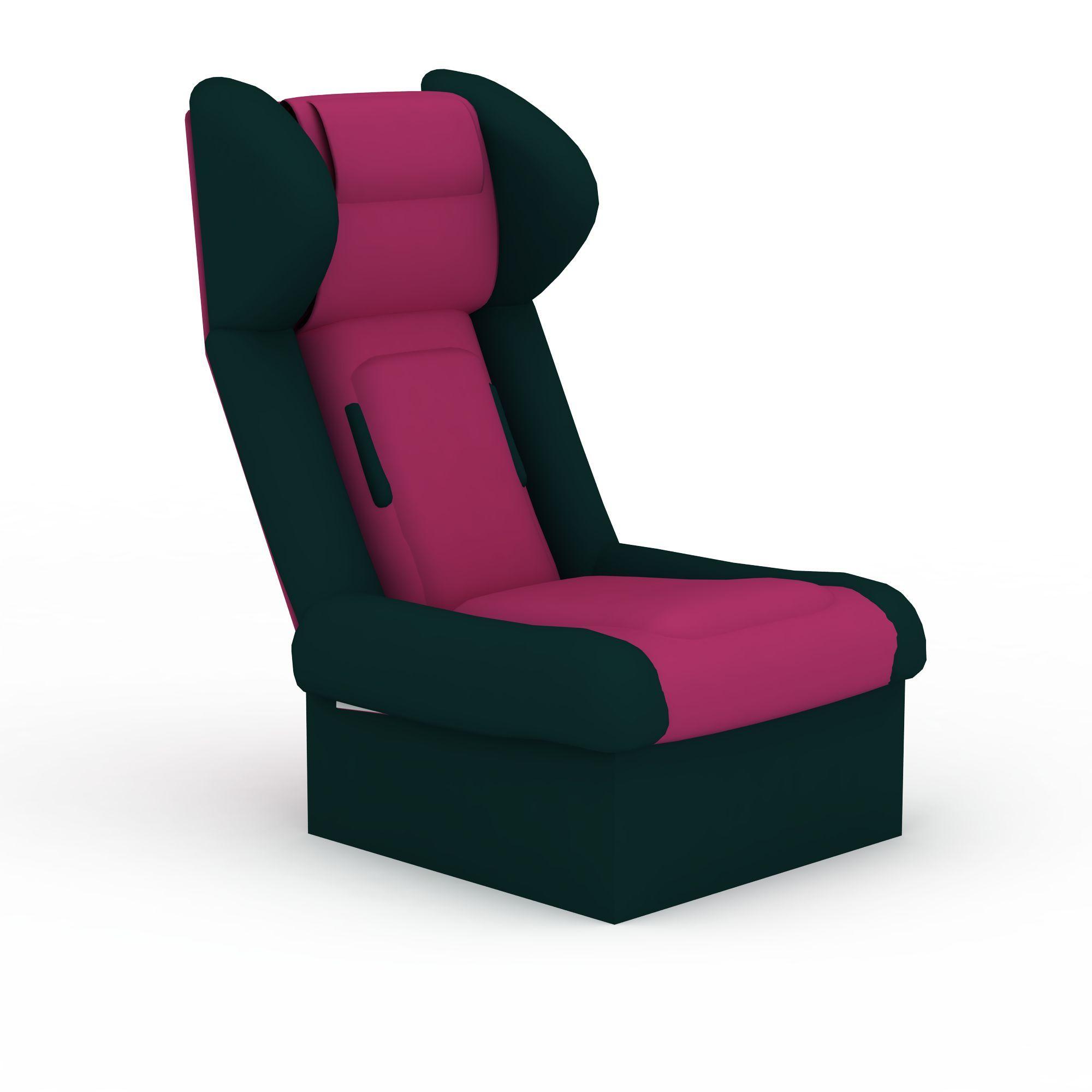 室内家具高脚座椅模型_设计分享