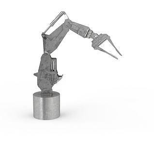 机械手臂3d模型