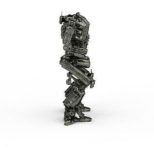 机器人-阿凡达3d模型