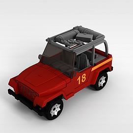 3d儿童<font class='myIsRed'>玩具车</font>模型