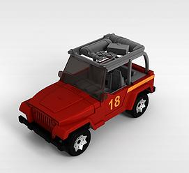 儿童<font class='myIsRed'>玩具车</font>3d模型