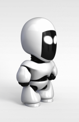 儿童机器人模型3d模型