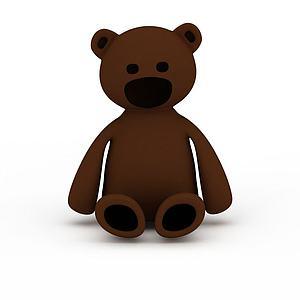 兒童玩具熊模型3d模型