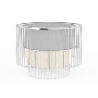 现代简约水晶灯3d模型