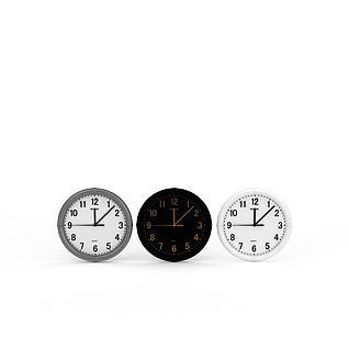 装饰钟表3d模型