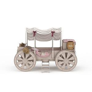 創意兒童床模型