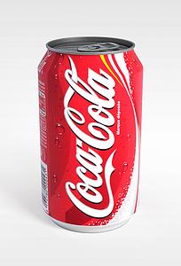 灌装可口可乐模型3d模型