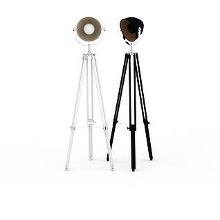 摄影灯3d模型