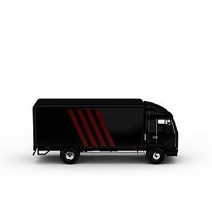 3d貨運<font class='myIsRed'>卡車</font>模型
