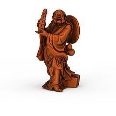 铜像雕塑模型3d模型