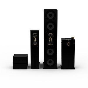 音响设备模型3d模型