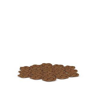 编织杯垫3d模型