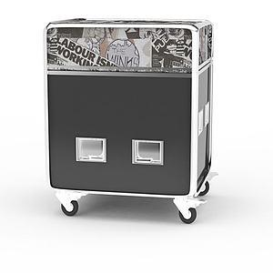 3d航空箱模型