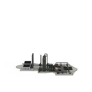 工业机械3d模型