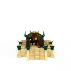 游戏场景房屋模型3d模型
