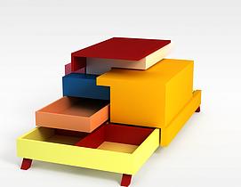 儿童变形感家具3d模型