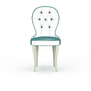 欧式<font class='myIsRed'>餐椅</font>3d模型