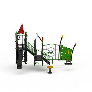 儿童攀爬组合3d模型