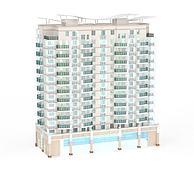 建筑大楼3D模型3d模型