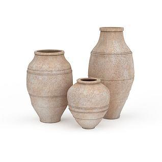陶罐3d模型