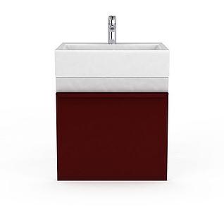 浴室洗手台3d模型