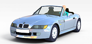3d高精<font class='myIsRed'>跑車</font>模型模型