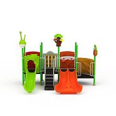 娱乐滑梯模型3d模型