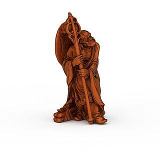艺术雕像3d模型