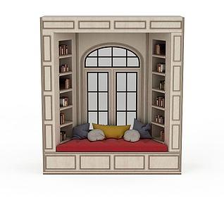 创意飘窗3d模型