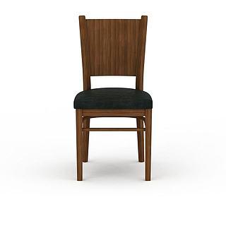 软垫<font class='myIsRed'>餐椅</font>3d模型