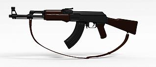 3d步枪模型