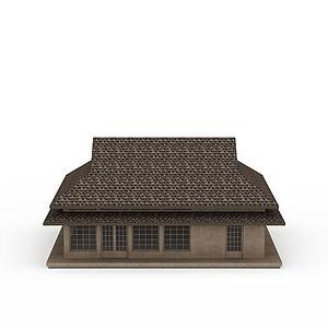 3d<font class='myIsRed'>日式建筑</font>模型