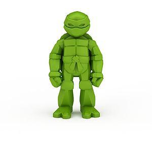 忍者神龟模型3d模型