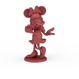 迪斯尼人物3d模型